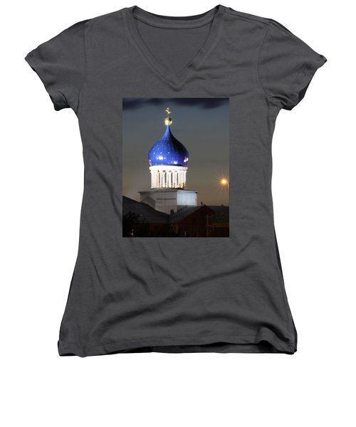 American History Women's V-Neck (Athletic Fit)