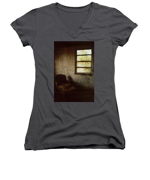 Analyzed Women's V-Neck T-Shirt