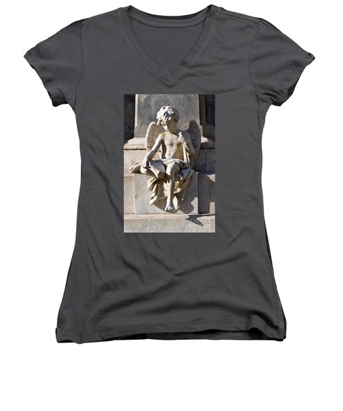 Angel Of Baroque Women's V-Neck