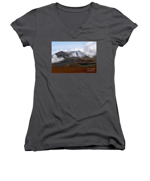 At The Rim Of The Crater Women's V-Neck