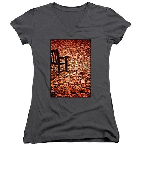 Autumnal Colours Women's V-Neck