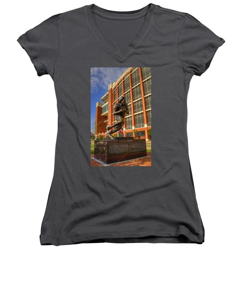 Billy Sims Women's V-Neck T-Shirt