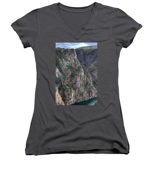 Black Canyon Of The Gunnison National Park Women's V-Neck