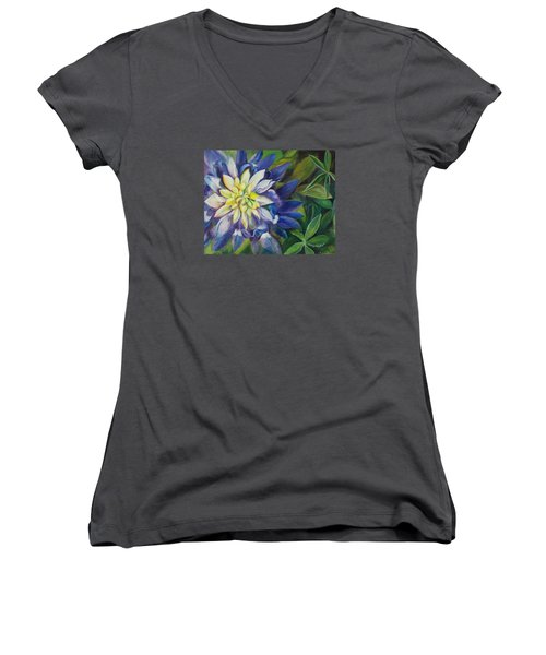 Bluebonnet Daze Women's V-Neck T-Shirt