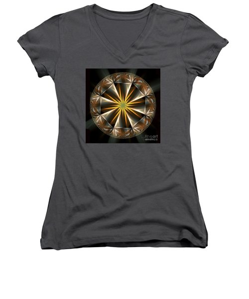 Bright Star Women's V-Neck (Athletic Fit)