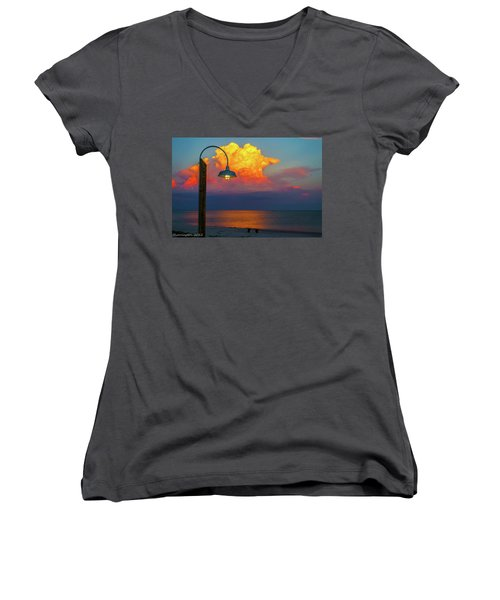 Brilliant Women's V-Neck (Athletic Fit)