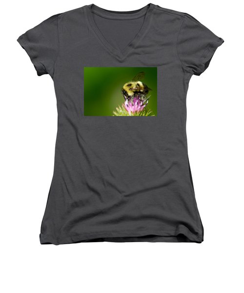 Busy Bee Women's V-Neck
