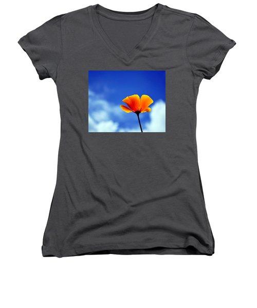 California Dreaming Women's V-Neck T-Shirt