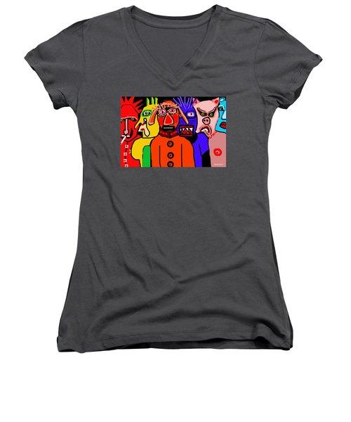 Carnavale 5a Women's V-Neck T-Shirt