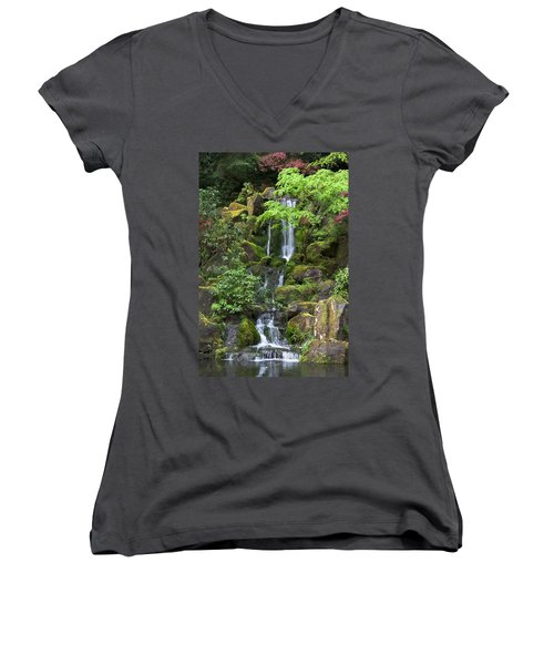 Cascading Waters Women's V-Neck
