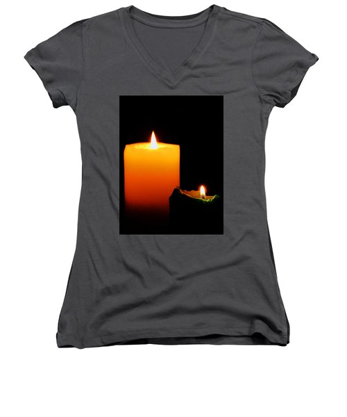 Christmas Wishes Women's V-Neck (Athletic Fit)