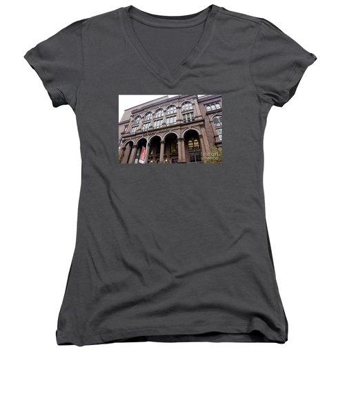 Cooper Union Women's V-Neck T-Shirt
