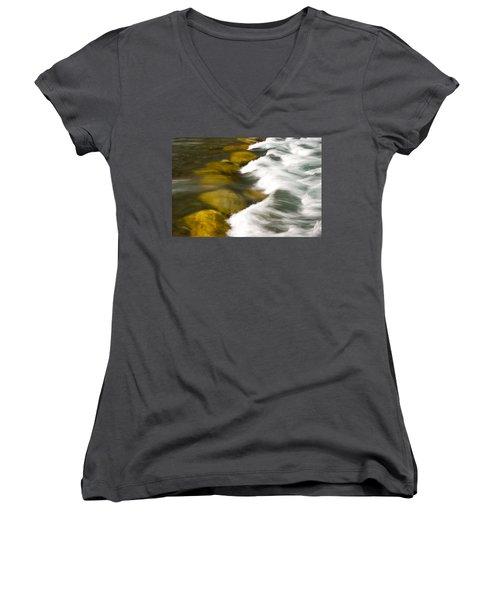 Crossing The Creek Women's V-Neck T-Shirt