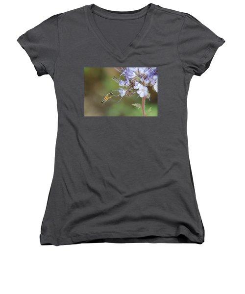 Women's V-Neck T-Shirt (Junior Cut) featuring the photograph Dbg 041012-0310 by Tam Ryan
