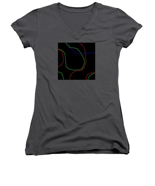 Edge Women's V-Neck T-Shirt