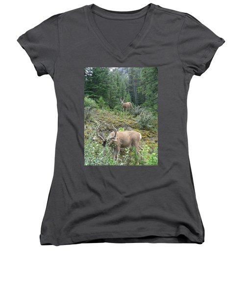 Elegant Elk Women's V-Neck