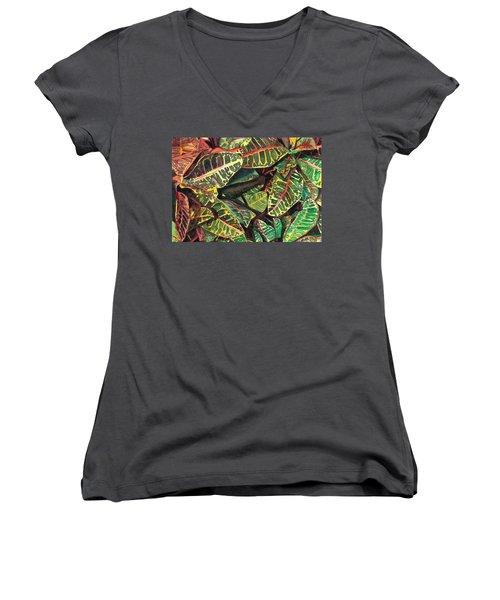 Elena's Crotons Women's V-Neck