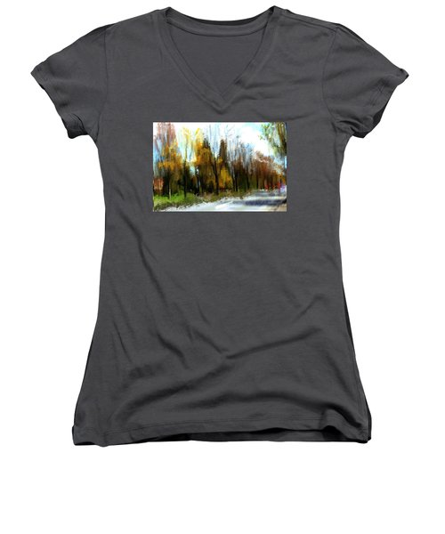 Farmington Women's V-Neck T-Shirt