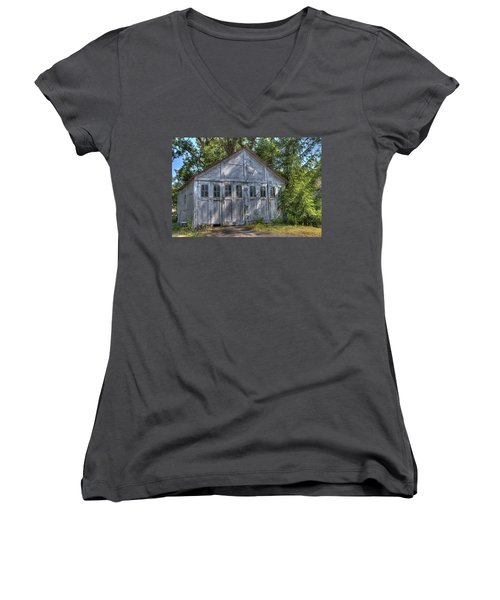 Final Resting Place Women's V-Neck T-Shirt