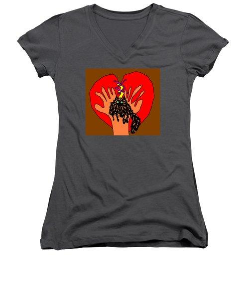 For Zsa Zsa Women's V-Neck T-Shirt