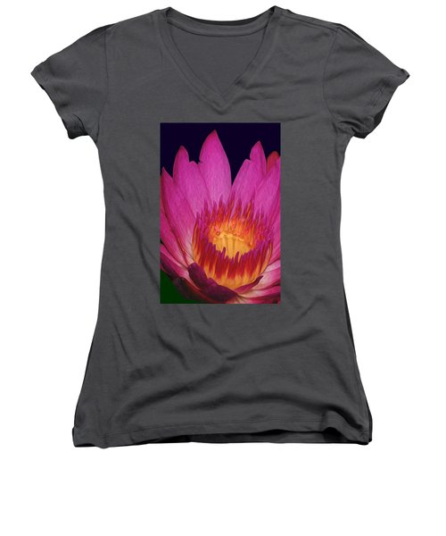 God Is Everywhere Women's V-Neck (Athletic Fit)