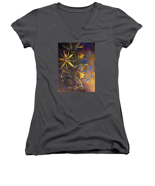 Gold Passions Women's V-Neck (Athletic Fit)