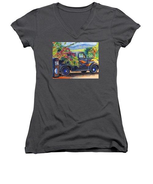 Hanapepe Truck Women's V-Neck