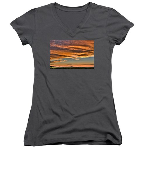 High Pressure Dominating Women's V-Neck T-Shirt