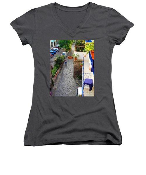 Hotel Mignon Sorrento Women's V-Neck T-Shirt