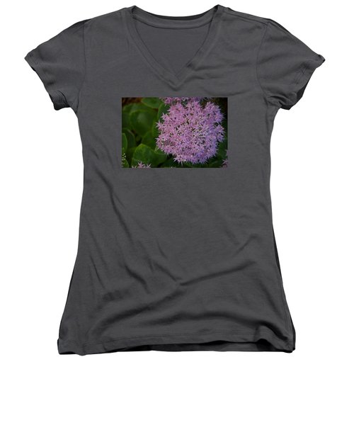Women's V-Neck T-Shirt (Junior Cut) featuring the photograph Inner White by Joseph Yarbrough