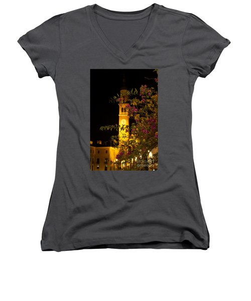 Inviting Beauty Women's V-Neck T-Shirt