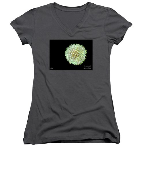 Women's V-Neck T-Shirt (Junior Cut) featuring the photograph Just Dandy by Cindy Manero