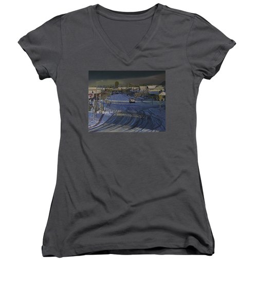 Late Afternoon Sun Women's V-Neck