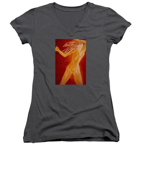 Light Body Women's V-Neck T-Shirt