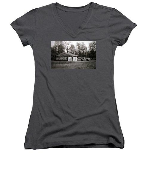 Mike's Lounge Women's V-Neck T-Shirt