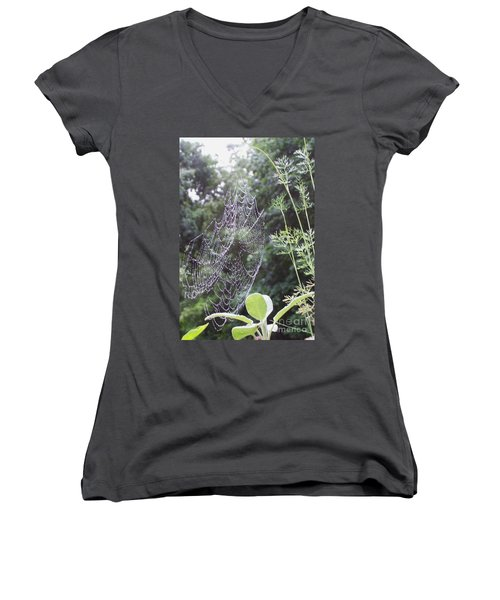 Morning Dew Women's V-Neck (Athletic Fit)