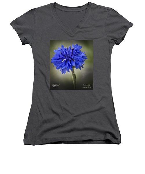 Morning Surprise - Artist Cris Hayes Women's V-Neck T-Shirt