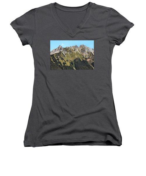 Mount Baker National Forest Women's V-Neck T-Shirt