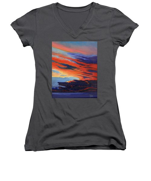 Natural Light Women's V-Neck T-Shirt