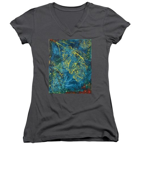 Night Moves Women's V-Neck T-Shirt