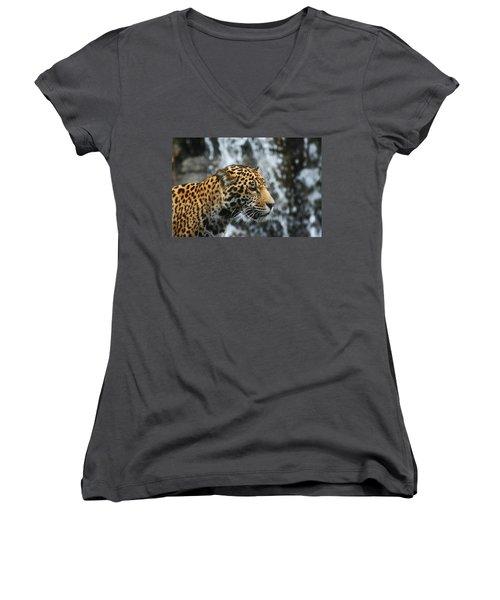On The Job Training Women's V-Neck T-Shirt