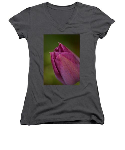 Purple Tulip Women's V-Neck