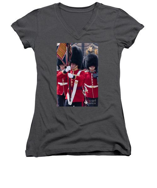 Queens Guards Women's V-Neck (Athletic Fit)