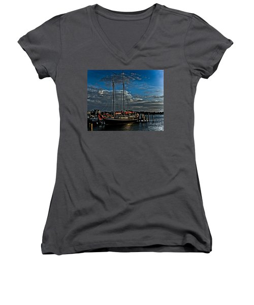 Ready To Sail Women's V-Neck (Athletic Fit)