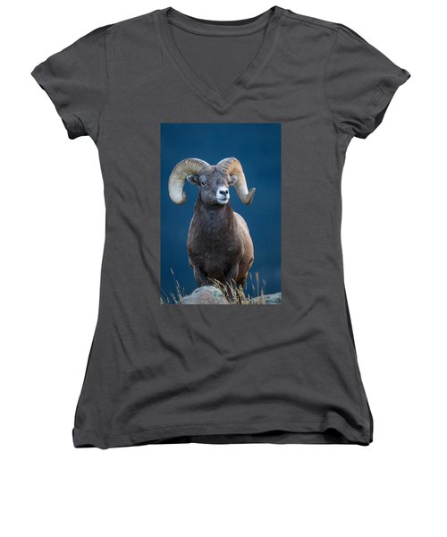 Rocky Mountain Big Horn Women's V-Neck (Athletic Fit)