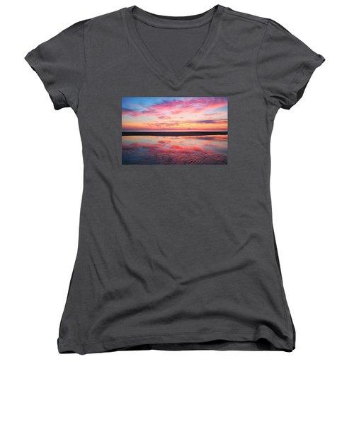 Sandz-a-bar Women's V-Neck T-Shirt