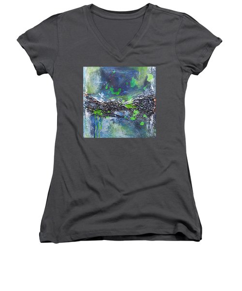 Sea World Women's V-Neck (Athletic Fit)
