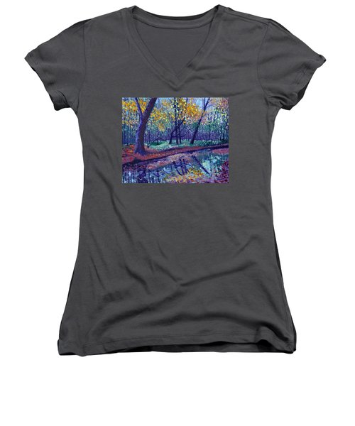 Sewp Creek Women's V-Neck T-Shirt