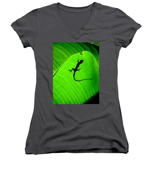 Shadowlizard Women's V-Neck (Athletic Fit)