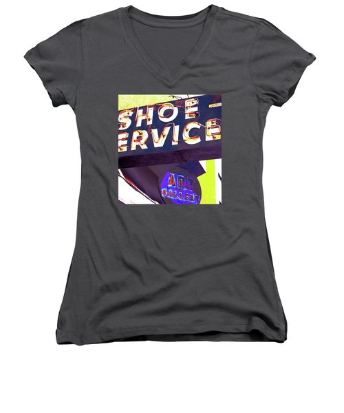 What A Pair Women's V-Neck T-Shirt (Junior Cut) by Beth Saffer